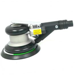 Self-Vacuuming Orbital Palm Air Sander 5 in.