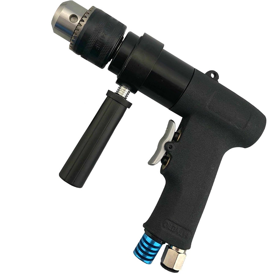 Professional Reversible Air Drill has a high strength stands up to heavy production use