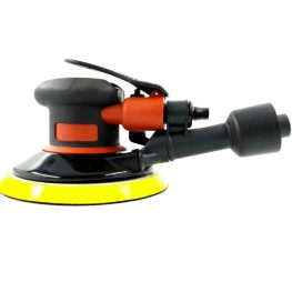 6 in. Professional Orbital Air Sander delivers 12,000 RPM for working on metals, aluminum and plastics